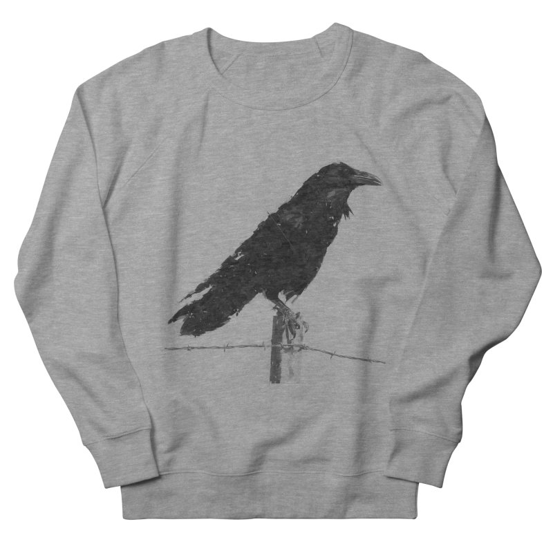 Raven Women's French Terry Sweatshirt by ゴロキ | GORODKEY | GRDK Clothing