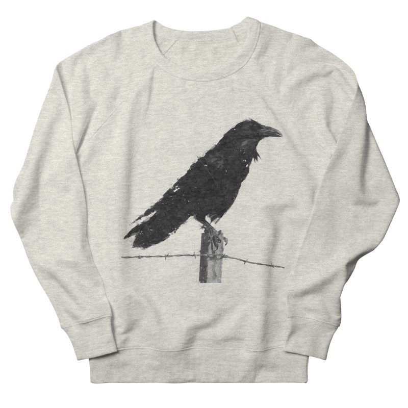 Raven Men's French Terry Sweatshirt by ゴロキ | GORODKEY | GRDK Clothing