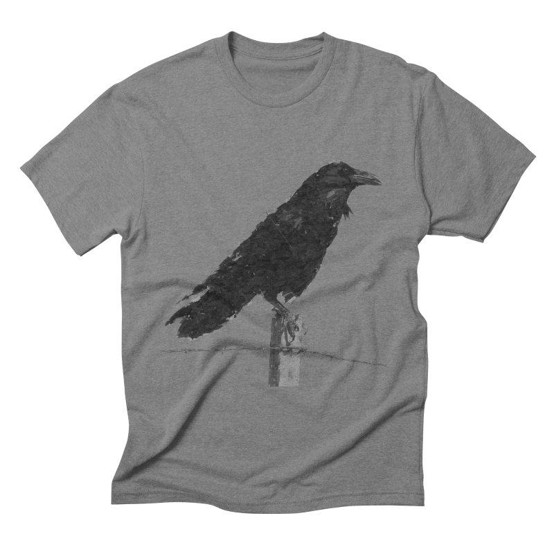 Raven Men's Triblend T-Shirt by ゴロキ   GORODKEY   GRDK Clothing