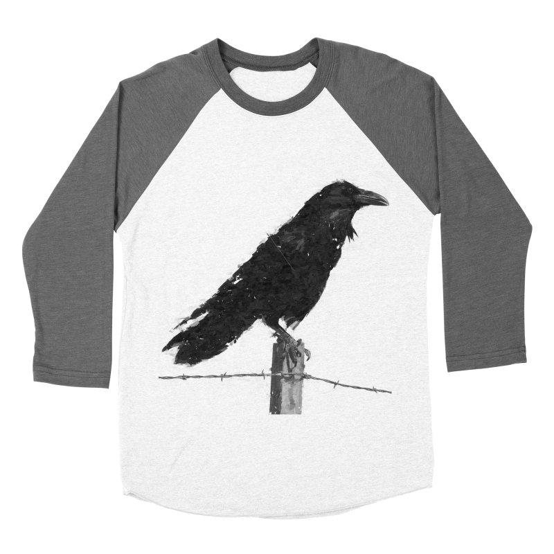 Raven Men's Baseball Triblend Longsleeve T-Shirt by ゴロキ | GORODKEY | GRDK Clothing