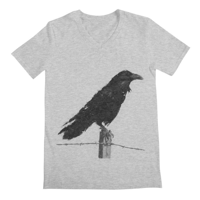 Raven Men's Regular V-Neck by ゴロキ | GORODKEY | GRDK Clothing