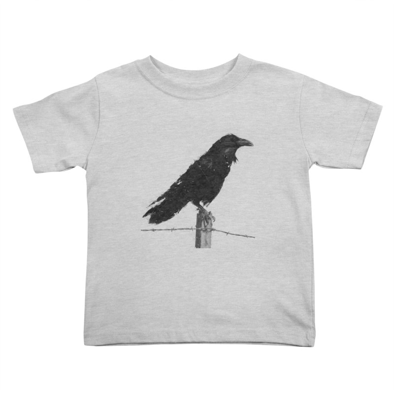 Raven Kids Toddler T-Shirt by ゴロキ | GORODKEY | GRDK Clothing