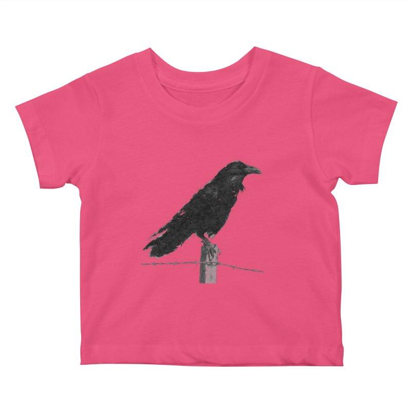 Raven Kids Baby T-Shirt by ゴロキ   GORODKEY   GRDK Clothing