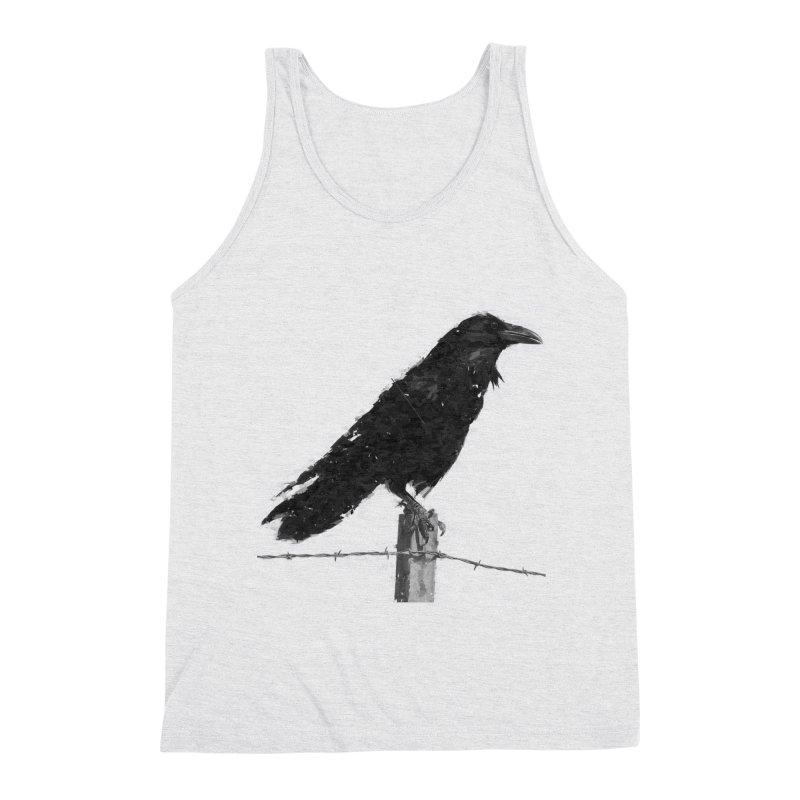 Raven Men's Triblend Tank by ゴロキ | GORODKEY | GRDK Clothing