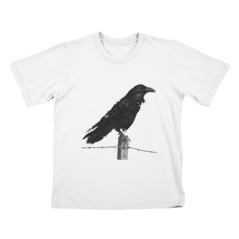 Raven Kids T-Shirt by ゴロキ | GORODKEY | GRDK Clothing