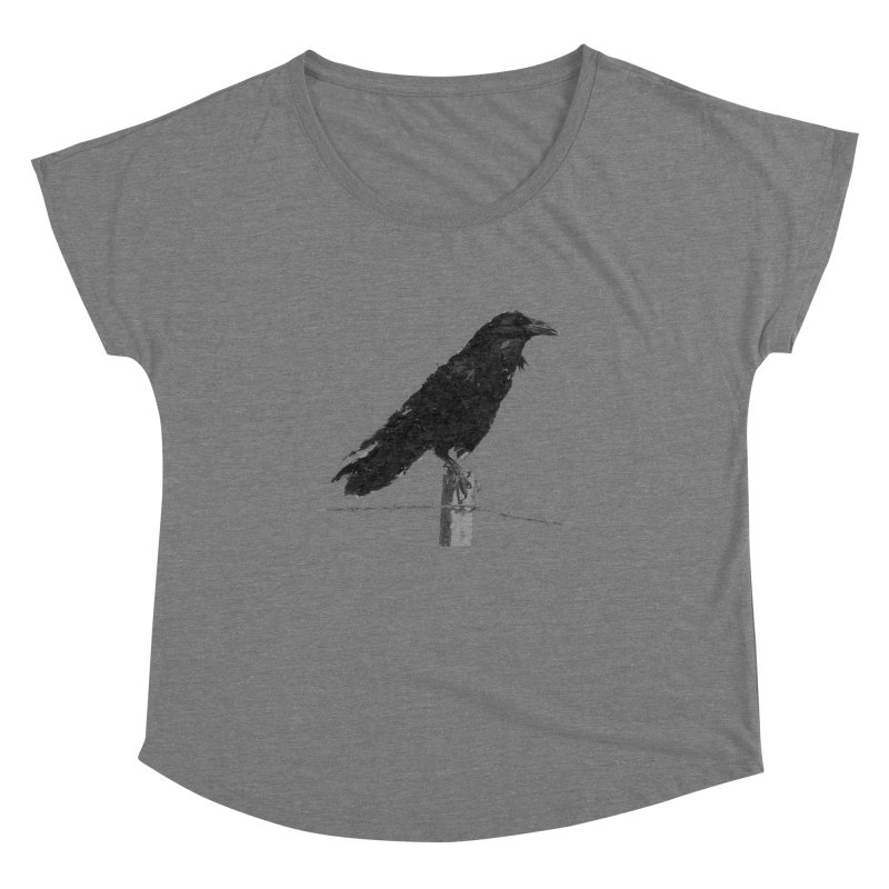 Raven Women's Dolman Scoop Neck by ゴロキ | GORODKEY | GRDK Clothing