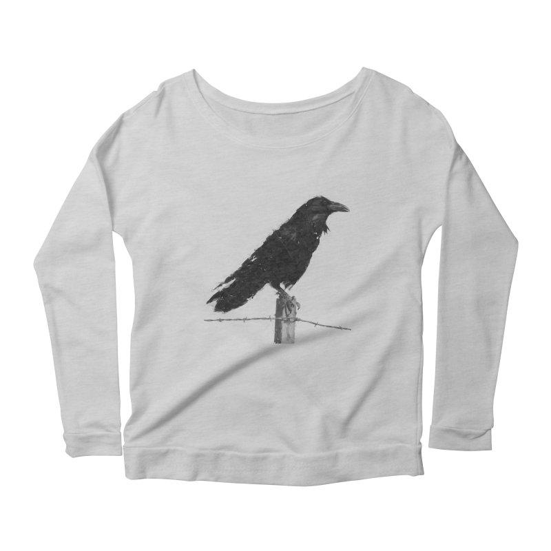 Raven Women's Scoop Neck Longsleeve T-Shirt by ゴロキ | GORODKEY | GRDK Clothing