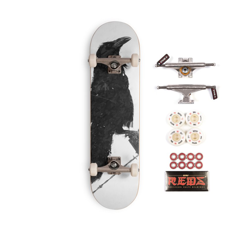 Raven Accessories Complete - Pro Skateboard by ゴロキ | GORODKEY | GRDK Clothing