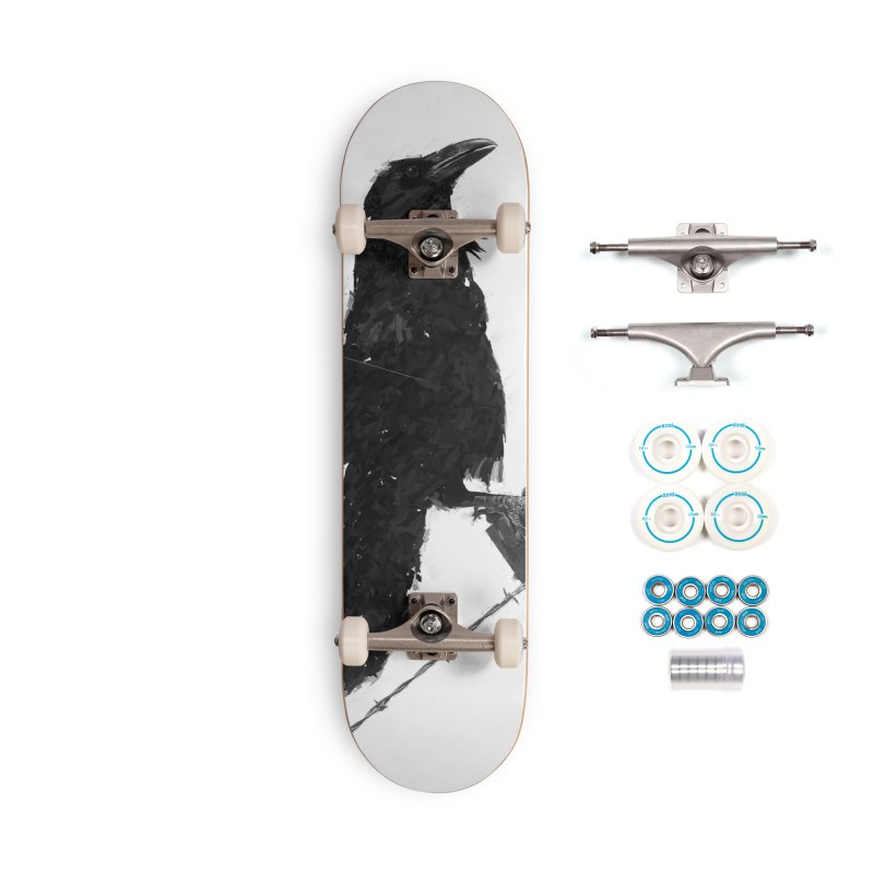 Raven Accessories Complete - Basic Skateboard by ゴロキ | GORODKEY | GRDK Clothing