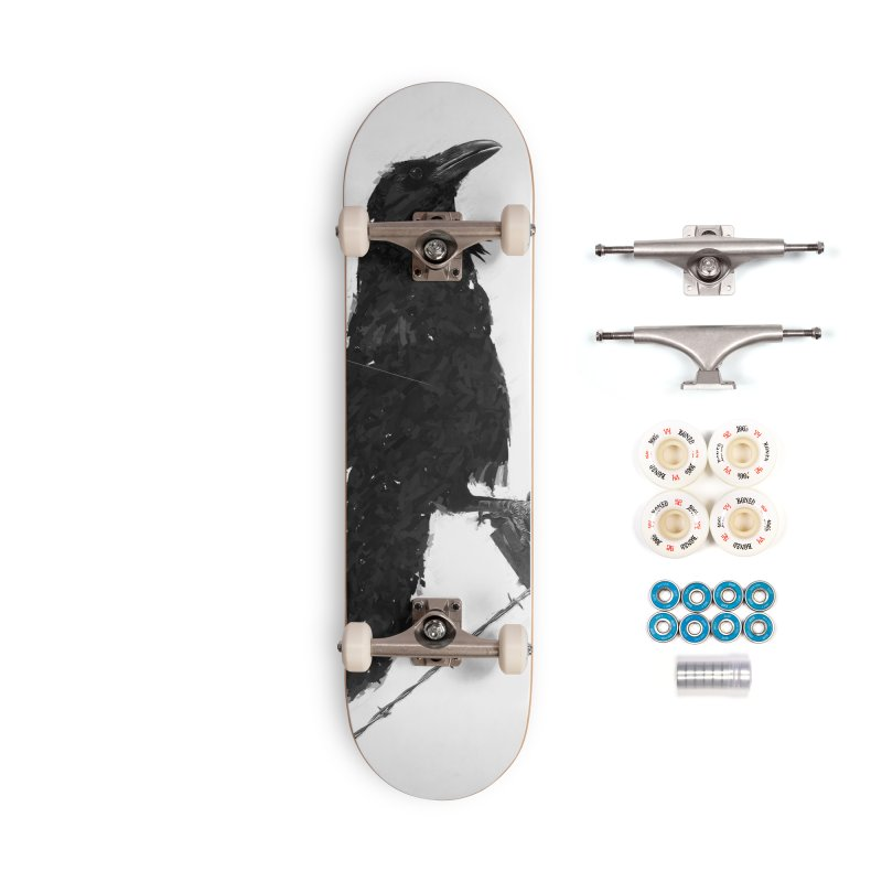 Raven Accessories Complete - Premium Skateboard by ゴロキ | GORODKEY | GRDK Clothing