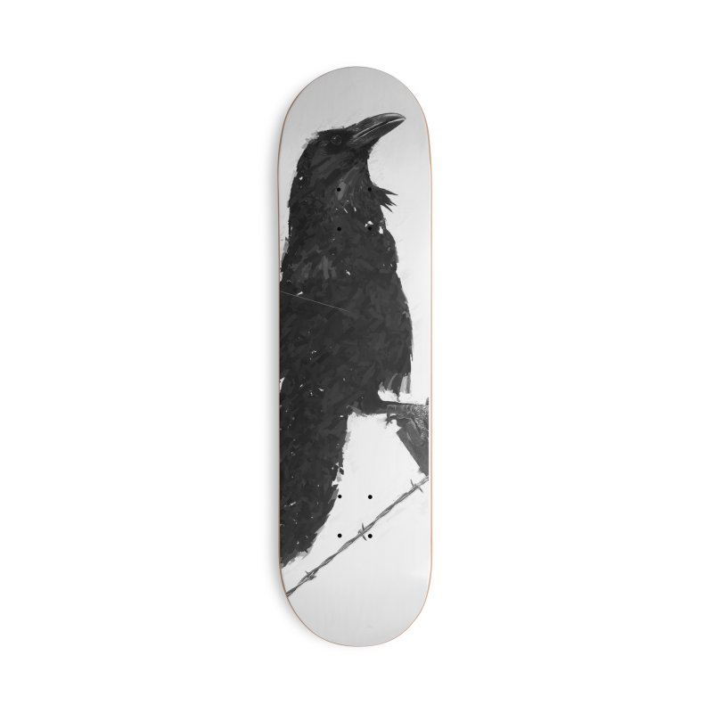 Raven Accessories Deck Only Skateboard by ゴロキ | GORODKEY | GRDK Clothing