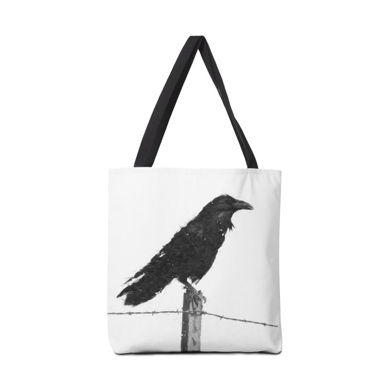Raven Accessories Tote Bag Bag by ゴロキ | GORODKEY | GRDK Clothing