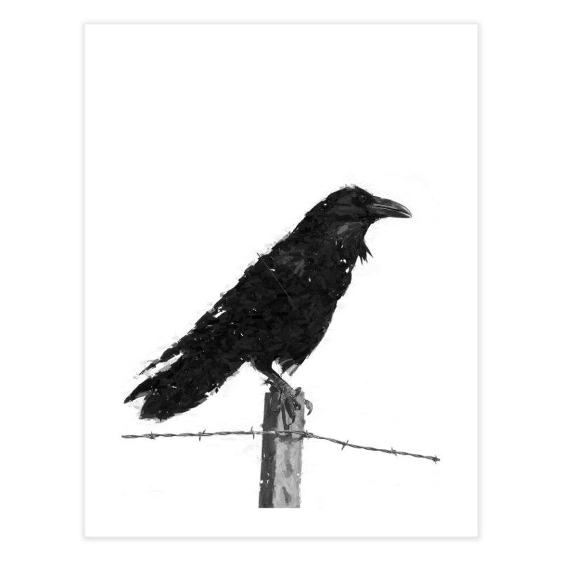 Raven Home Fine Art Print by ゴロキ | GORODKEY | GRDK Clothing