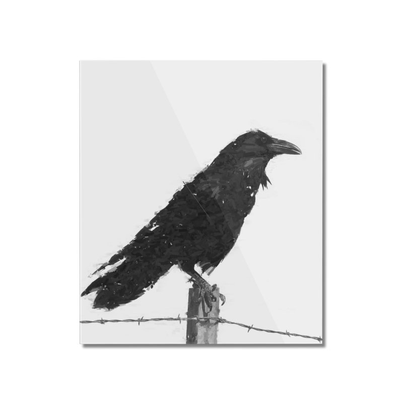 Raven Home Mounted Acrylic Print by ゴロキ | GORODKEY | GRDK Clothing