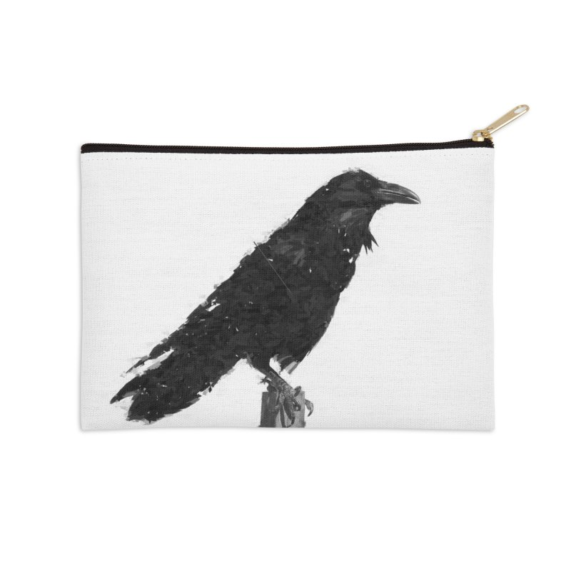 Raven Accessories Zip Pouch by ゴロキ | GORODKEY | GRDK Clothing