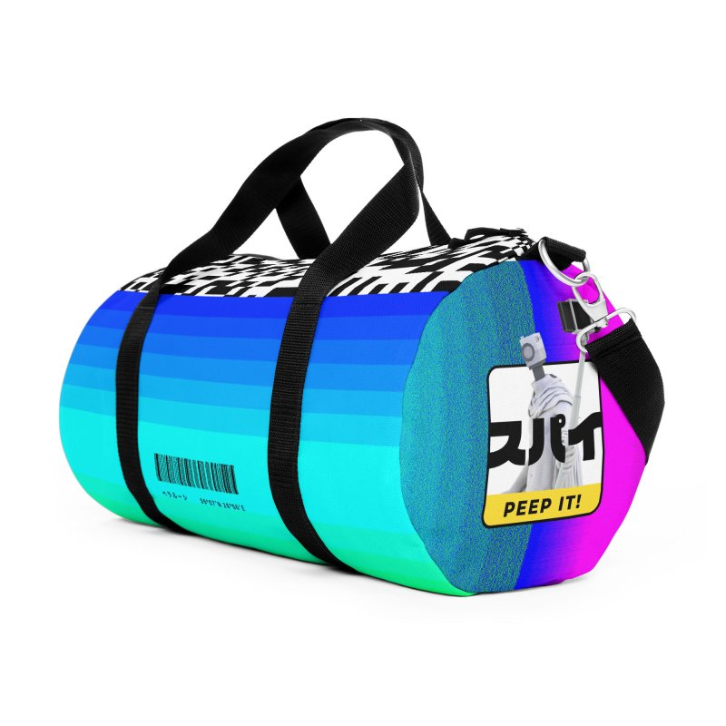 Peep It Accessories Duffel Bag Bag by ゴロキ | GORODKEY | GRDK Clothing