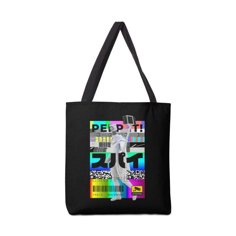 Peep It Accessories Tote Bag Bag by ゴロキ | GORODKEY | GRDK Clothing