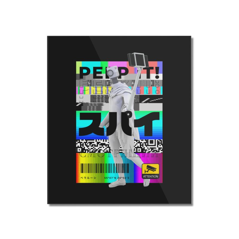 Peep It Home Mounted Acrylic Print by ゴロキ | GORODKEY | GRDK Clothing