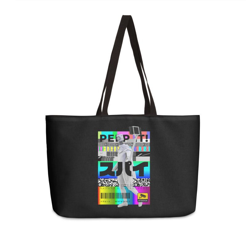 Peep It Accessories Weekender Bag Bag by ゴロキ | GORODKEY | GRDK Clothing