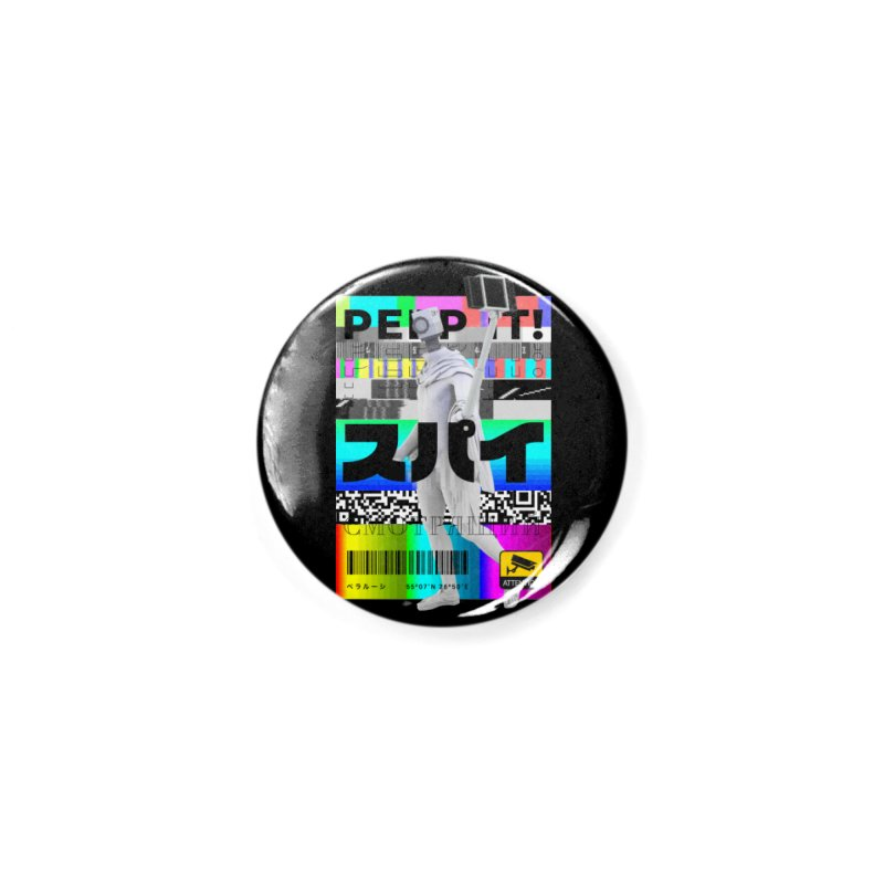 Peep It Accessories Button by ゴロキ | GORODKEY | GRDK Clothing