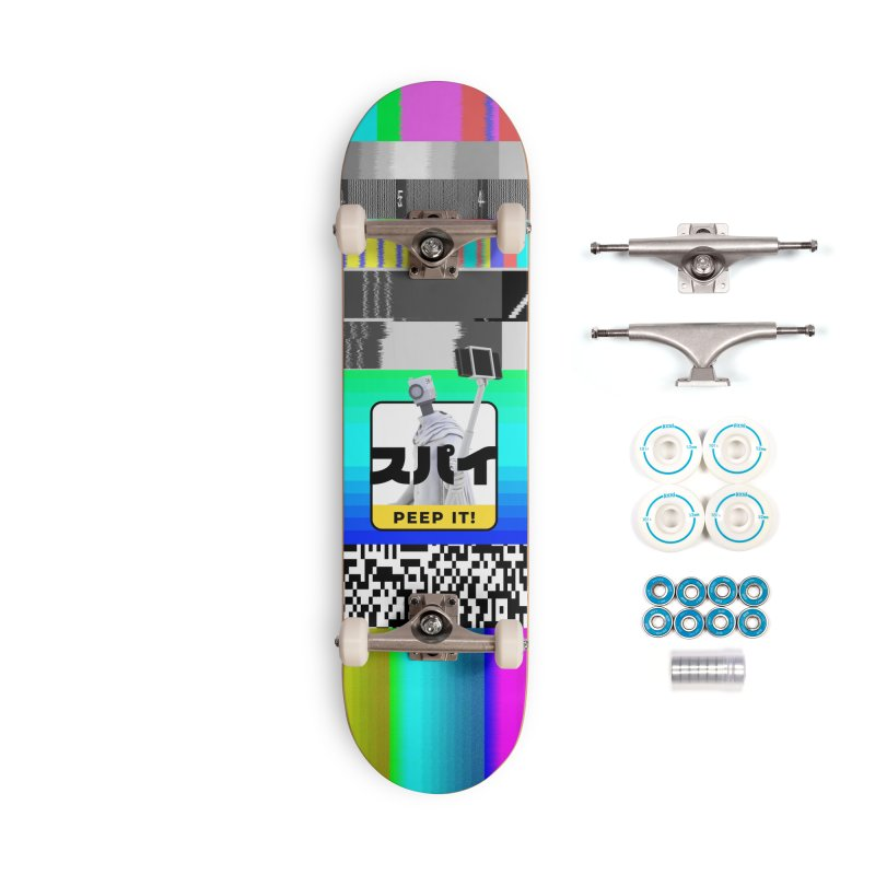 Peep It Accessories Complete - Basic Skateboard by ゴロキ | GORODKEY | GRDK Clothing