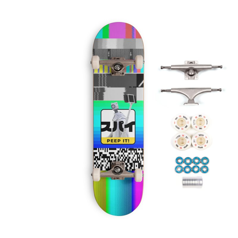 Peep It Accessories Complete - Premium Skateboard by ゴロキ | GORODKEY | GRDK Clothing