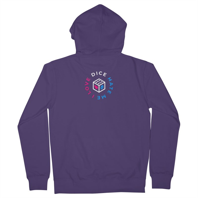 I Love Dice But Dice Hate Me Women's French Terry Zip-Up Hoody by ゴロキ | GORODKEY | GRDK Clothing