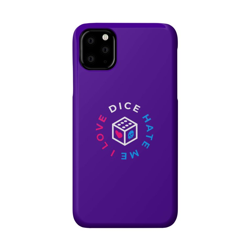 I Love Dice But Dice Hate Me Accessories Phone Case by ゴロキ | GORODKEY | GRDK Clothing