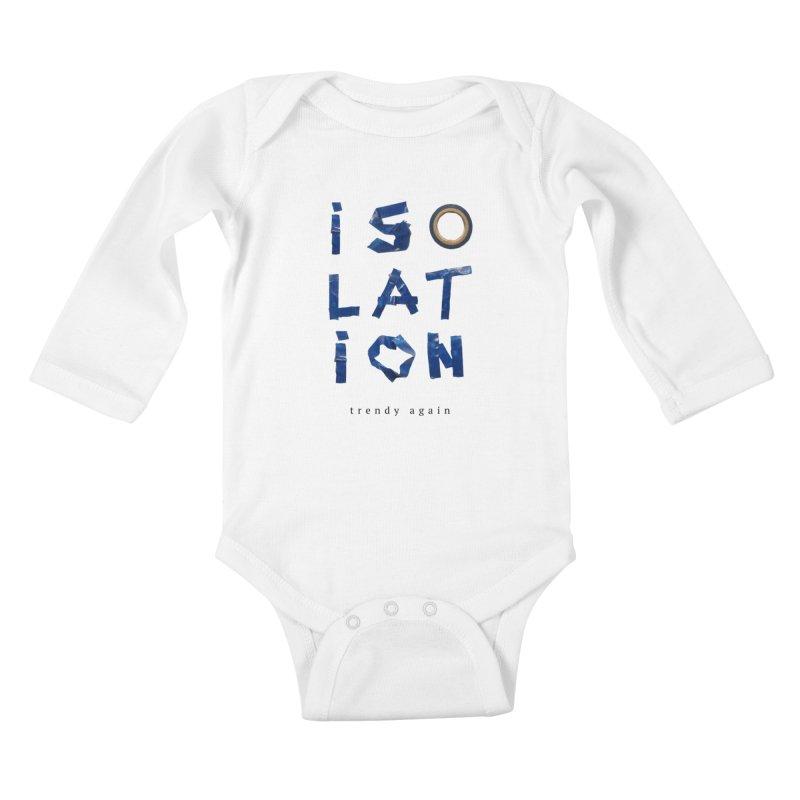 Isolation Kids Baby Longsleeve Bodysuit by ゴロキ | GORODKEY | GRDK Clothing