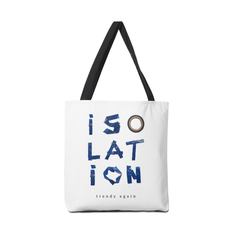 Isolation Accessories Tote Bag Bag by ゴロキ | GORODKEY | GRDK Clothing