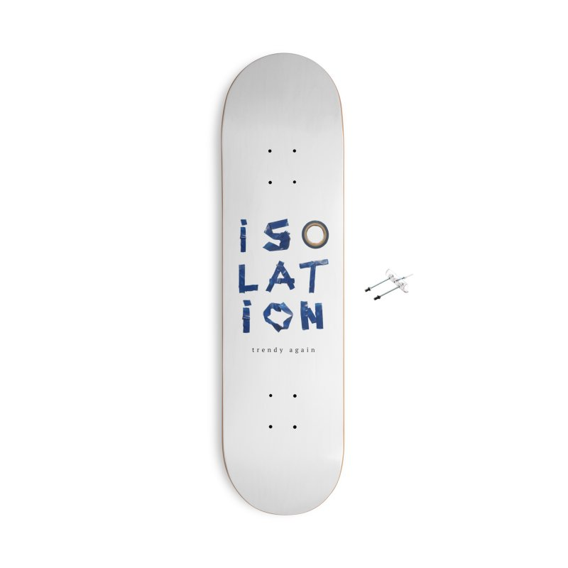 Isolation Accessories With Hanging Hardware Skateboard by ゴロキ | GORODKEY | GRDK Clothing