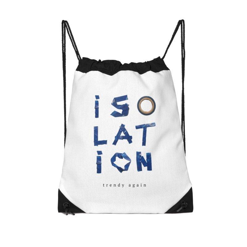 Isolation Accessories Drawstring Bag Bag by ゴロキ | GORODKEY | GRDK Clothing