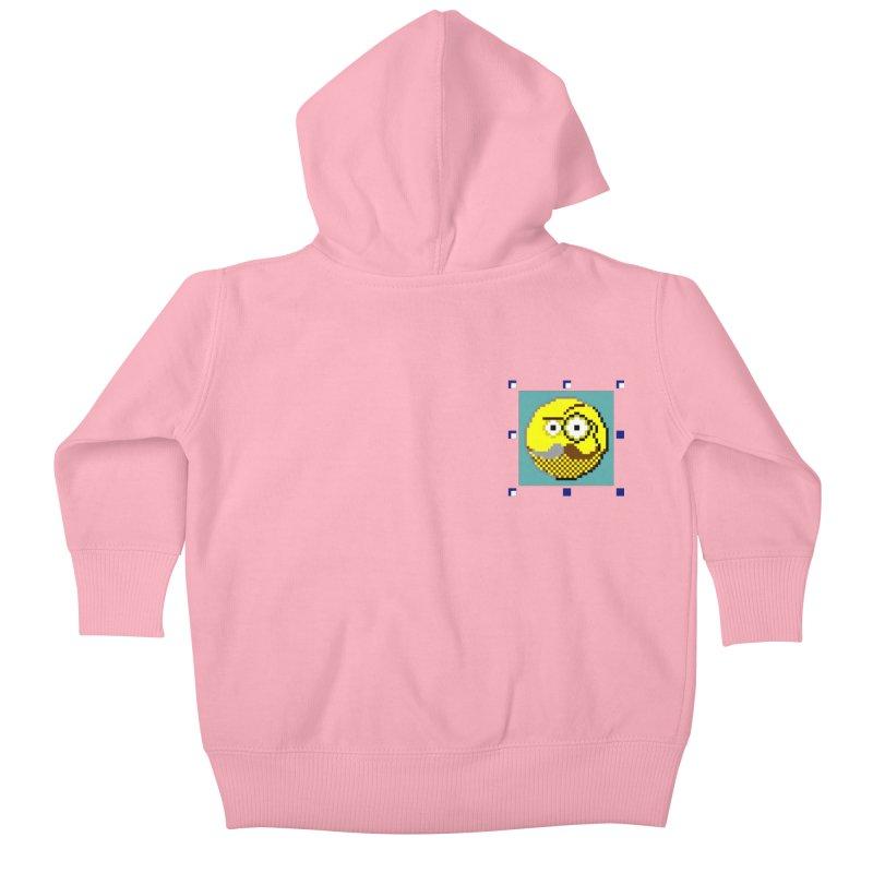 Ivan Moroz Kids Baby Zip-Up Hoody by ゴロキ | GORODKEY | GRDK Wear & Clothing