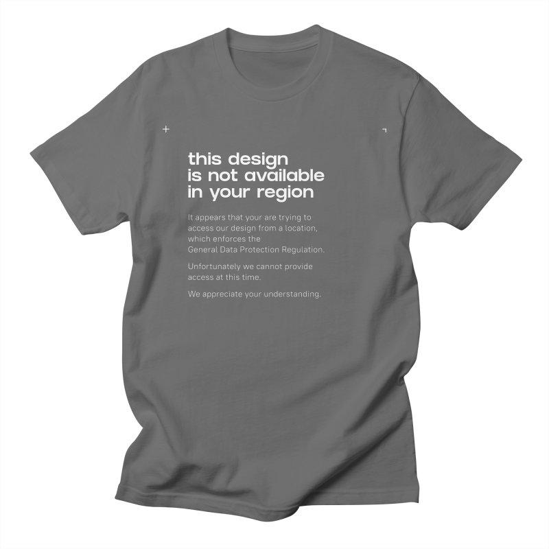 GDPR Men's T-Shirt by ゴロキ | GORODKEY | GRDK Clothing