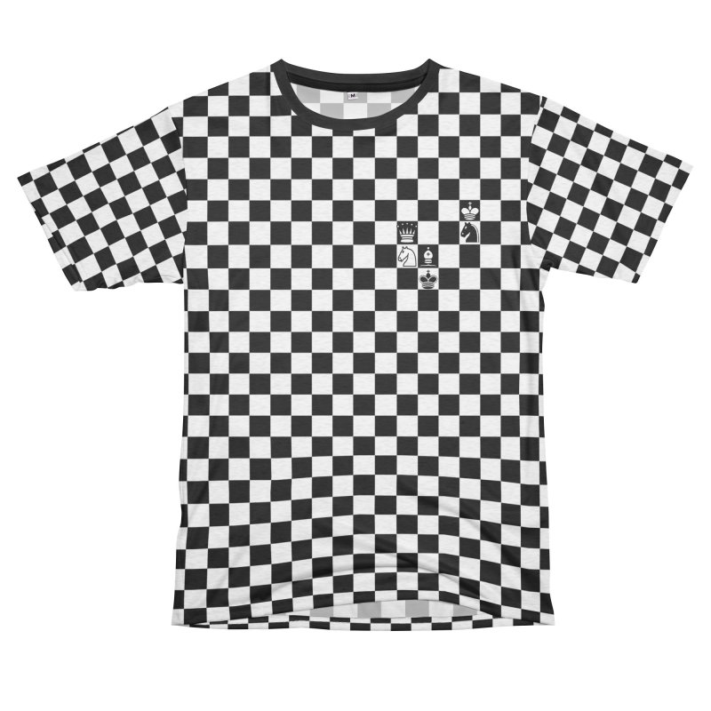 CHESS NOT DEAD! Men's French Terry T-Shirt Cut & Sew by ゴロキ | GORODKEY | GRDK Clothing