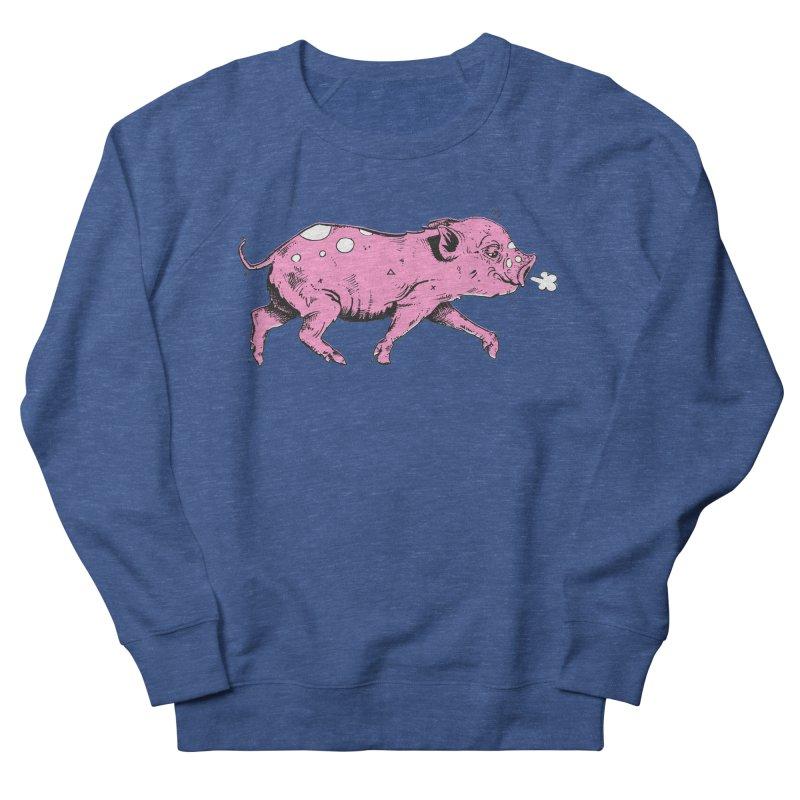 Hater Piggie Men's Sweatshirt by Garrett Shane Bryant