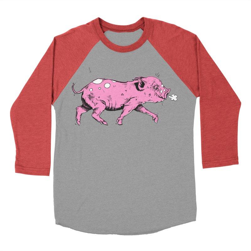 Hater Piggie Men's Longsleeve T-Shirt by Garrett Shane Bryant