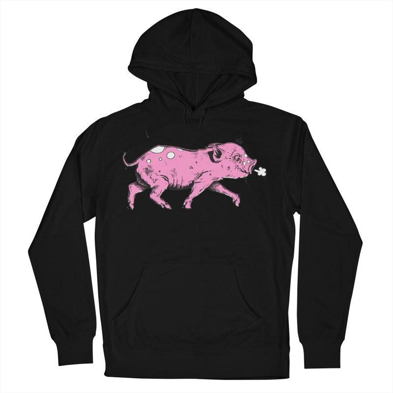 Hater Piggie Women's Pullover Hoody by Garrett Shane Bryant