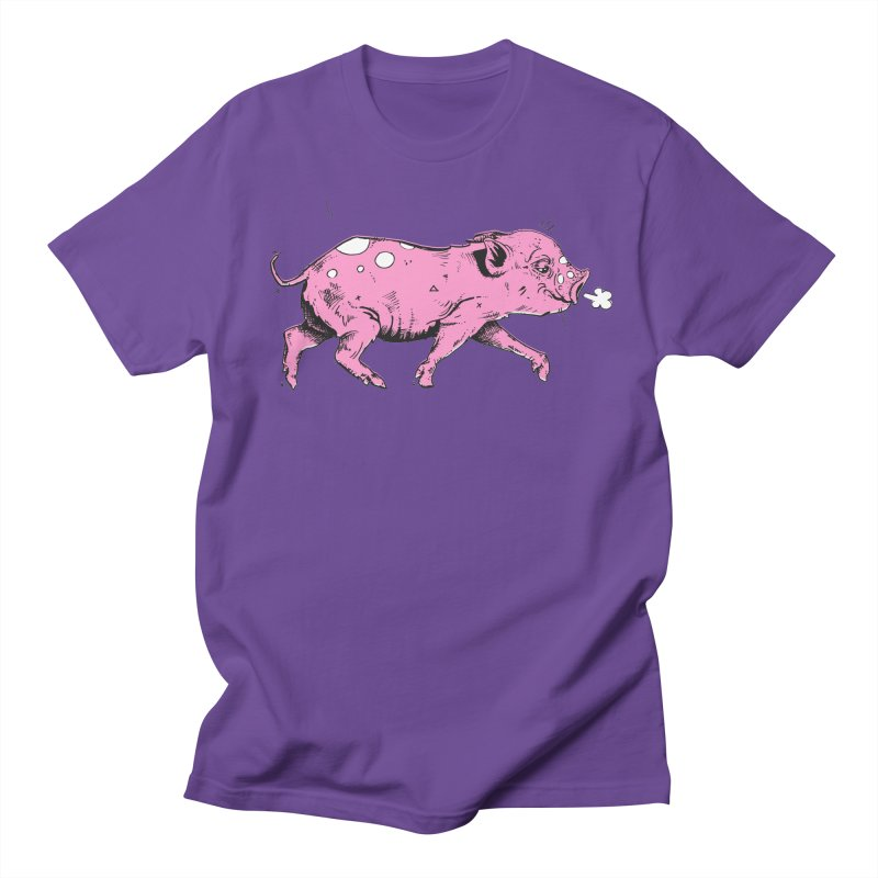 Hater Piggie Men's T-Shirt by Garrett Shane Bryant