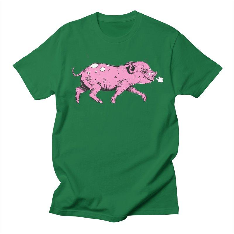Hater Piggie Men's Regular T-Shirt by Garrett Shane Bryant
