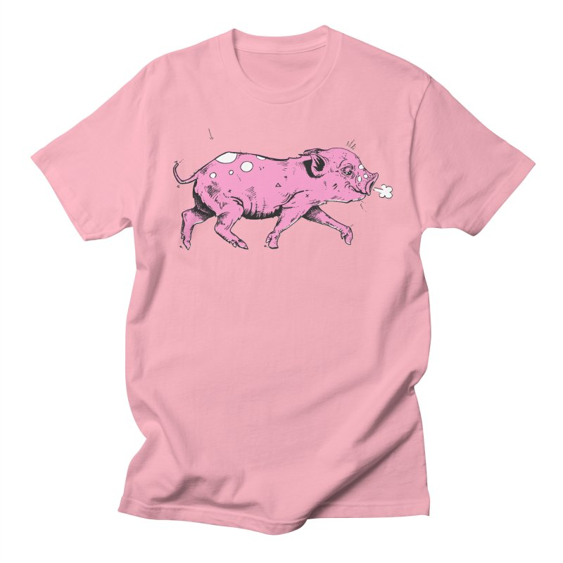 Hater Piggie Women's Regular Unisex T-Shirt by Garrett Shane Bryant