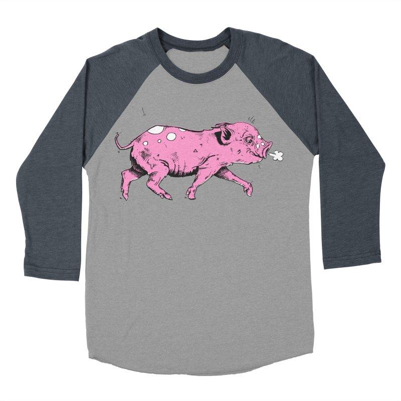 Hater Piggie Women's Longsleeve T-Shirt by Garrett Shane Bryant