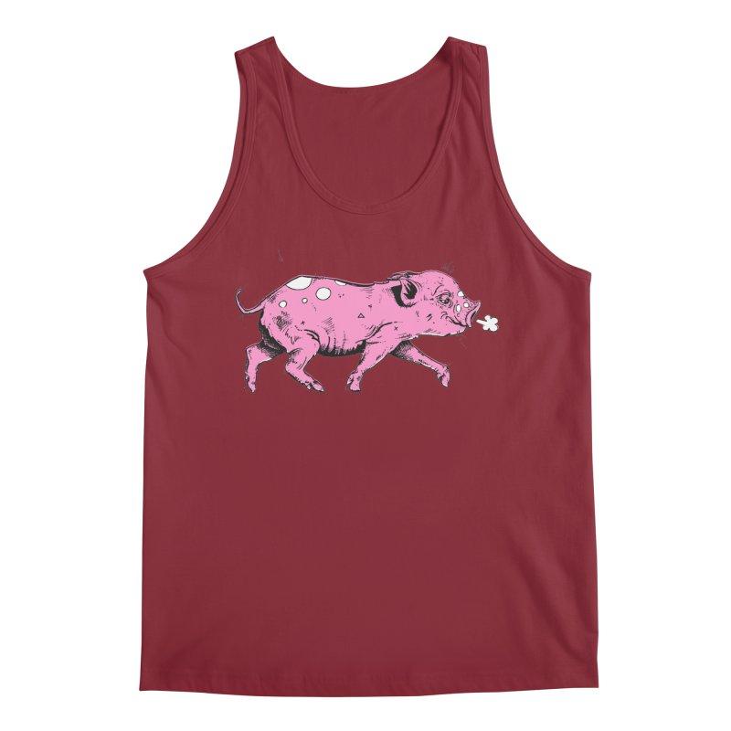 Hater Piggie Men's Tank by Garrett Shane Bryant