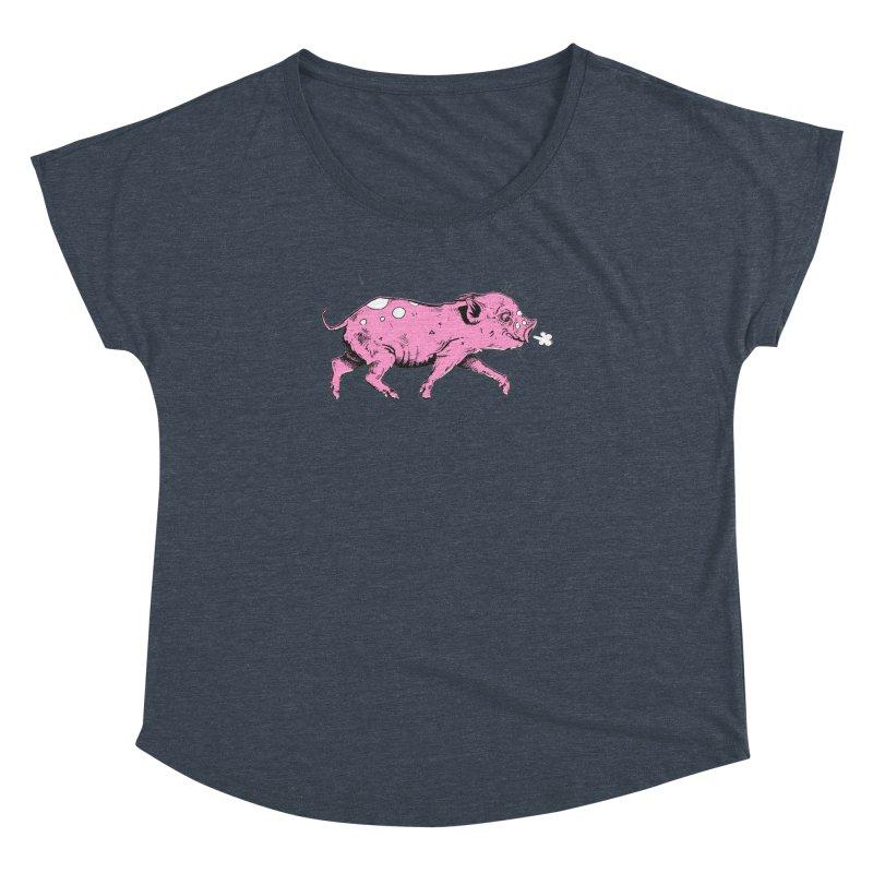 Hater Piggie Women's Dolman by Garrett Shane Bryant