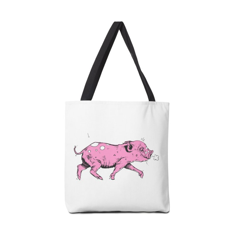 Hater Piggie Accessories Bag by Garrett Shane Bryant