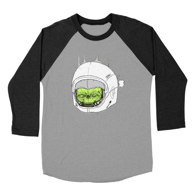 Blackest Hole Men's Baseball Triblend Longsleeve T-Shirt by Garrett Shane Bryant