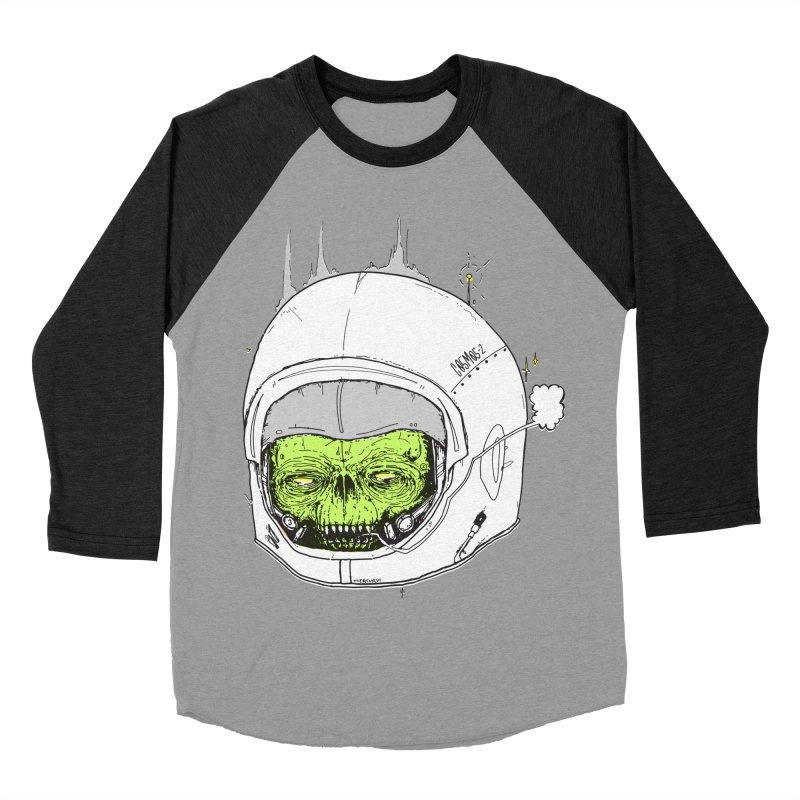 Blackest Hole Men's Baseball Triblend T-Shirt by Garrett Shane Bryant