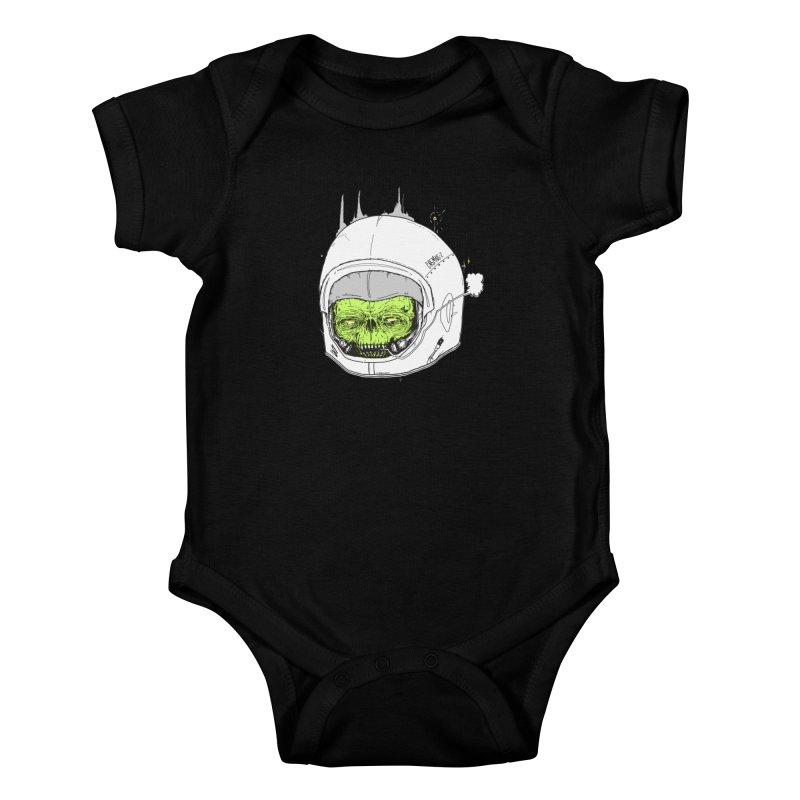 Blackest Hole Kids Baby Bodysuit by Garrett Shane Bryant