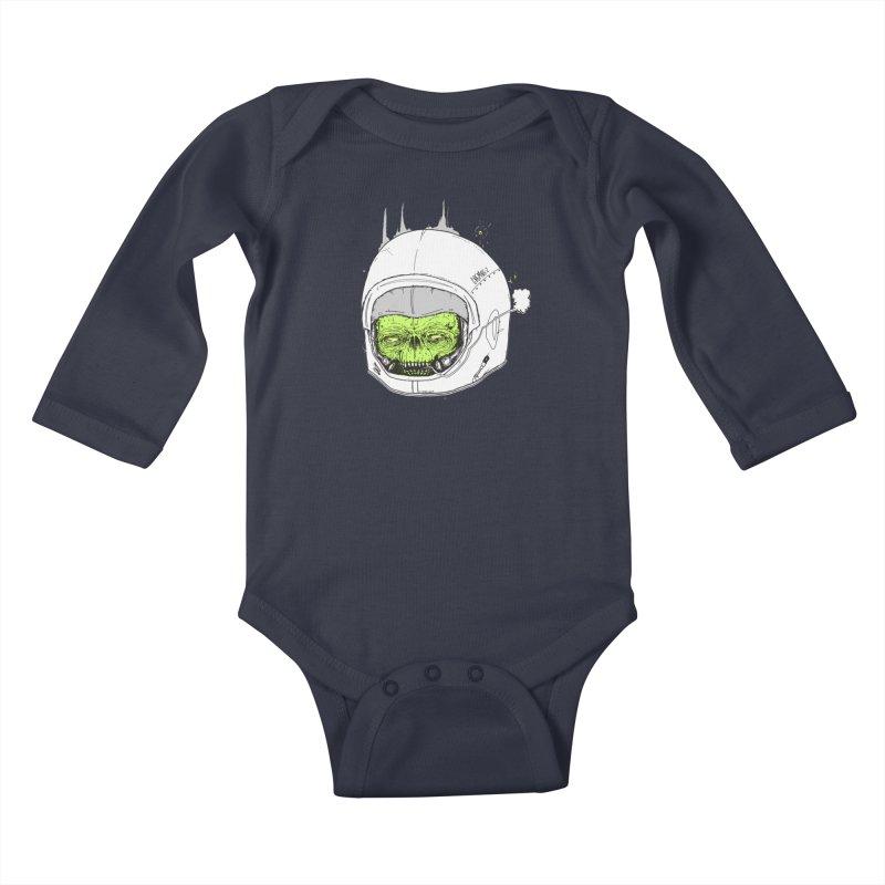 Blackest Hole Kids Baby Longsleeve Bodysuit by Garrett Shane Bryant