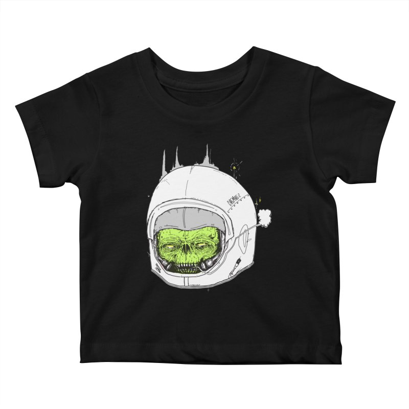 Blackest Hole Kids Baby T-Shirt by Garrett Shane Bryant
